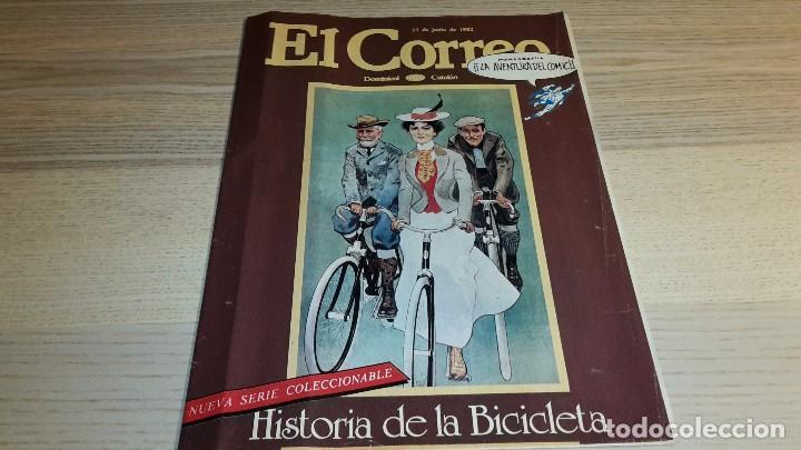 SUPLEMENTO DOMINICAL EL CORREO. EL CORREO CATALÁN. LA AVENTURA DEL CÓMIC. 16 PÁGINAS. 1982 (Coleccionismo - Revistas y Periódicos Modernos (a partir de 1.940) - Revista TP ( Teleprograma ))