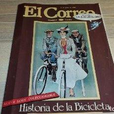 Coleccionismo de Revista Teleprograma: SUPLEMENTO DOMINICAL EL CORREO. EL CORREO CATALÁN. LA AVENTURA DEL CÓMIC. 16 PÁGINAS. 1982. Lote 99266559