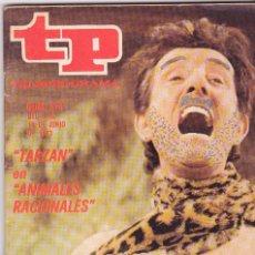 Coleccionismo de Revista Teleprograma: TP TELEPROGRAMA NÚMERO 374, MANOLO GÓMEZ BUR, TARZÁN EN ANIMALES IRRACIONALES¨, DISNEY, JUNIO 1973. Lote 99850123
