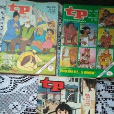 Coleccionismo de Revista Teleprograma: LOTE 3 TP TELEPROGRAMA AÑOS 70 Y 80 MARCO HEIDI ERASE UNA VEZ.......... Lote 99895375
