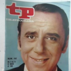 Coleccionismo de Revista Teleprograma: REVISTA TP TELEPROGRAMA Nº 152 JOAQUIN PRAT. Lote 100029823