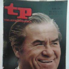 Coleccionismo de Revista Teleprograma: REVISTA TP TELEPROGRAMA Nº 216 FRANZ JOHAM. Lote 100033015