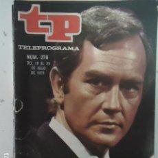 Coleccionismo de Revista Teleprograma: REVISTA TP TELEPROGRAMA Nº 276 JAVIER ESCRIVA. Lote 100035391
