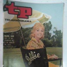 Coleccionismo de Revista Teleprograma: REVISTA TP TELEPROGRAMA Nº 308 DEBBIE REYNOLDS. Lote 100037283