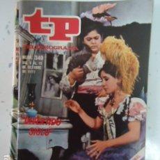 Coleccionismo de Revista Teleprograma: REVISTA TP TELEPROGRAMA Nº 340 DIVERTIDO SIGLO. Lote 100038687