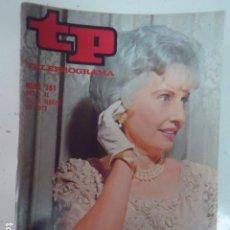 Coleccionismo de Revista Teleprograma: REVISTA TP TELEPROGRAMA Nº 361 BARBARA STANWYCK. Lote 100039207