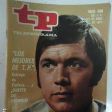 Coleccionismo de Revista Teleprograma: REVISTA TP TELEPROGRAMA Nº 366 LOS MEJORES DE TP. Lote 100039363