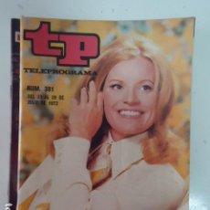 Coleccionismo de Revista Teleprograma: REVISTA TP TELEPROGRAMA Nº 381 JENNIE LA HIJA DEL GOBERNADOR. Lote 100040067
