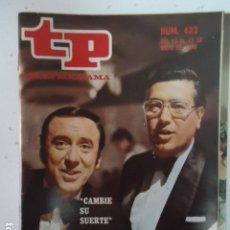 Coleccionismo de Revista Teleprograma: REVISTA TP TELEPROGRAMA Nº 423 CAMBIE SU SUERTE. Lote 100046279