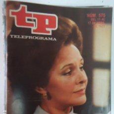 Coleccionismo de Revista Teleprograma: REVISTA TP TELEPROGRAMA Nº 575 LA VIUDA LOLA HERRERA. Lote 100055711