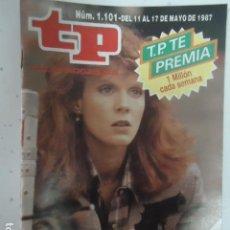 Coleccionismo de Revista Teleprograma: REVISTA TP TELEPROGRAMA Nº 1101 UNA LADY DE ARMAS TOMAR. Lote 100072203