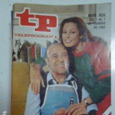 Coleccionismo de Revista Teleprograma: REVISTA TP TELEPROGRAMA Nº 826 DIALOGOS DE MATRIMONIO. Lote 100076983