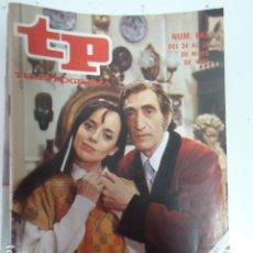 Coleccionismo de Revista Teleprograma: REVISTA TP TELEPROGRAMA Nº 842 VERDE QUE TE QUIERO VERDE. Lote 100078043