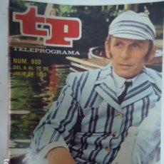 Coleccionismo de Revista Teleprograma: REVISTA TP TELEPROGRAMA Nº 900 CRIBB. Lote 100080791