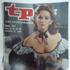 Coleccionismo de Revista Teleprograma: REVISTA TP TELEPROGRAMA Nº 907 MARIANA PINEDA. Lote 100081119
