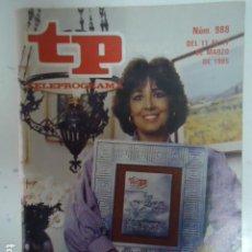 Coleccionismo de Revista Teleprograma: REVISTA TP TELEPROGRAMA Nº 988 ENTREGA DE LOS MEJORES 84. Lote 100083463