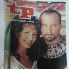 Coleccionismo de Revista Teleprograma: REVISTA TP TELEPROGRAMA Nº 991 LOS ULTIMOS DIAS DE POMPEYA. Lote 100083519