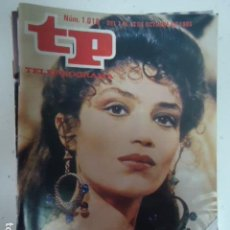 Coleccionismo de Revista Teleprograma: REVISTA TP TELEPROGRAMA Nº 1018 ANGELA MOLINA EN QUO VADIS?. Lote 100084243