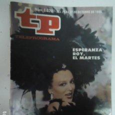 Coleccionismo de Revista Teleprograma: REVISTA TP TELEPROGRAMA Nº 1020 LA ESTRELLA DE EGIPTO. Lote 100084343