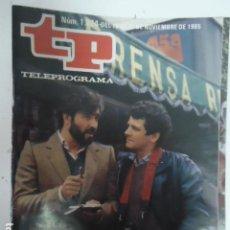 Coleccionismo de Revista Teleprograma: REVISTA TP TELEPROGRAMA Nº 1024 PATXI ANDION REPORTERO DE SUCESOS. Lote 100084479