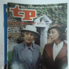 Coleccionismo de Revista Teleprograma: REVISTA TP TELEPROGRAMA Nº 1025 MISS MARPLE. Lote 100084519