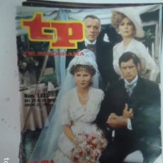 Coleccionismo de Revista Teleprograma: REVISTA TP TELEPROGRAMA Nº 1033 LA ISLA DE ELLIS. Lote 100084799