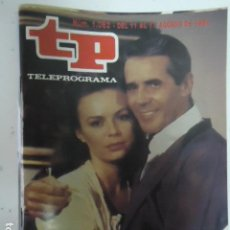 Coleccionismo de Revista Teleprograma: REVISTA TP TELEPROGRAMA Nº 1062 LA FUENTE DE PIEDRA. Lote 100085911