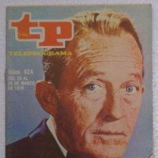 Coleccionismo de Revista Teleprograma: REVISTA TELEPROGRAMA, TP, Nº 624 (DEL 20 AL 25 MARZO 1978) - CON PROGRAMACION EPISODIO MAZINGER Z. Lote 100378343