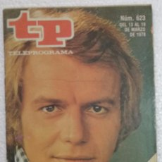 Coleccionismo de Revista Teleprograma: REVISTA TELEPROGRAMA, TP, Nº 623 (DEL 13 AL 19 MARZO 1978) - CON PROGRAMACION EPISODIO MAZINGER Z. Lote 100378459