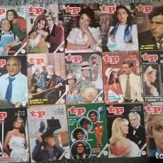 Coleccionismo de Revista Teleprograma: LOTE 20 REVISTAS REVISTA TP TELEPROGRAMA AÑO 1982. UN DOS TRES (1, 2, 3) MUNDIAL FUTBOL ESPAÑA 82. Lote 103291031