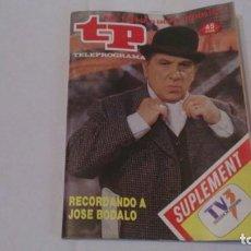 Coleccionismo de Revista Teleprograma: REVISTA TP N 1086 ENERO1987. Lote 103602075