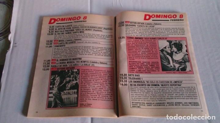 Coleccionismo de Revista Teleprograma: REVISTA TP N 1087 FEBRERO 1987 - Foto 2 - 103694043