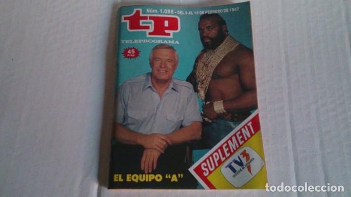 REVISTA TP N 1088 FEBRERO 1987 (Coleccionismo - Revistas y Periódicos Modernos (a partir de 1.940) - Revista TP ( Teleprograma ))
