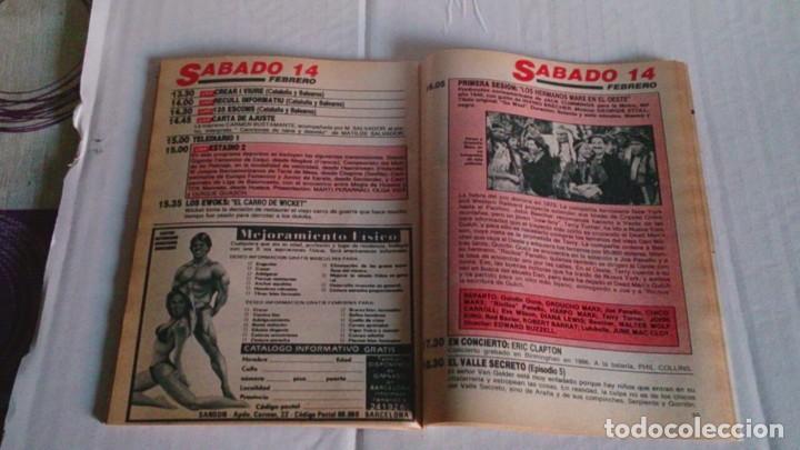 Coleccionismo de Revista Teleprograma: REVISTA TP N 1088 FEBRERO 1987 - Foto 3 - 103694311