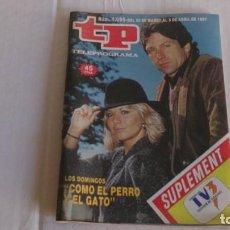 Coleccionismo de Revista Teleprograma: REVISTA TP N 1095 ABRIL 1987. Lote 103745083