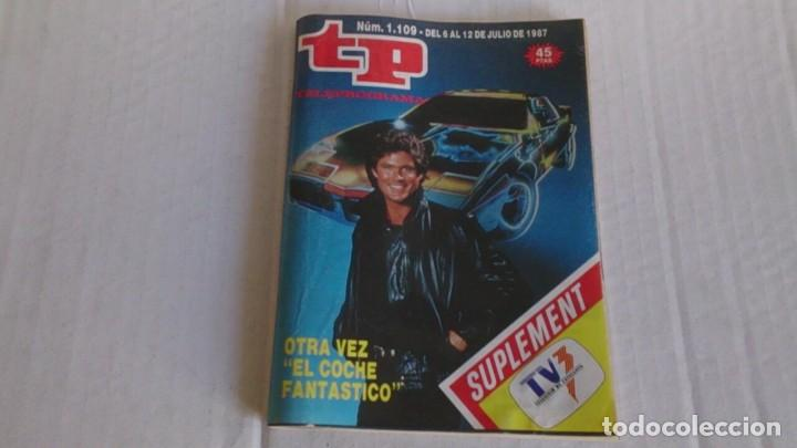REVISTA TP N 1109 JULIO 1987 (Coleccionismo - Revistas y Periódicos Modernos (a partir de 1.940) - Revista TP ( Teleprograma ))