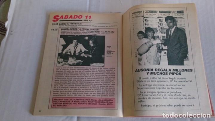 Coleccionismo de Revista Teleprograma: REVISTA TP N 1109 JULIO 1987 - Foto 3 - 103757915