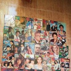 Coleccionismo de Revista Teleprograma: 49 REVISTAS TV TVE TELEPROGRAMA SUPERTELE ANTENA TV TELE AÑOS 80 TP. Lote 103782339