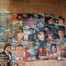 Coleccionismo de Revista Teleprograma: 20 REVISTAS DE LA TELE TV ANTENA TV HULK GRAN HEROE AMERICANO. Lote 103783367
