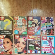 Coleccionismo de Revista Teleprograma: LOTE DE 13 REVISTAS TELESIETE TELE SIETE TELE 7 TVE TELE TV UN DOS TRES DON CICUTA AZAFATAS. Lote 103783843