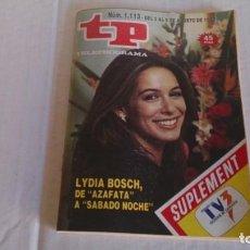 Coleccionismo de Revista Teleprograma: REVISTA TP N 1113 AGOSTO 1987. Lote 103824075