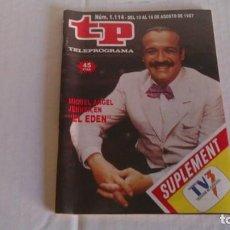 Coleccionismo de Revista Teleprograma: REVISTA TP N 1114 AGOSTO 1987. Lote 103824315