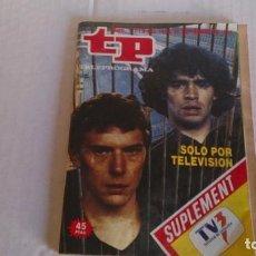 Coleccionismo de Revista Teleprograma: REVISTA TP N 1119 SEPTIEMBRE 1987. Lote 103825955