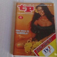Coleccionismo de Revista Teleprograma: REVISTA TP N 1120 SEPTIEMBRE 1987. Lote 103826155