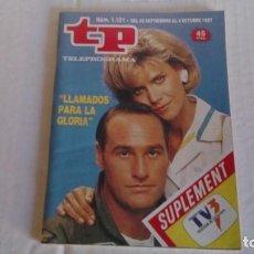 Coleccionismo de Revista Teleprograma: REVISTA TP N 1121 SEPTIEMBRE - OCTUBRE 1987. Lote 103826479