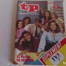 Coleccionismo de Revista Teleprograma: REVISTA TP N 1122 OCTUBRE 1987. Lote 103826723