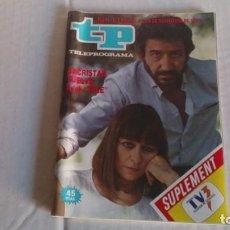 Coleccionismo de Revista Teleprograma: REVISTA TP N 1126 NOVIEMBRE 1987. Lote 103840147