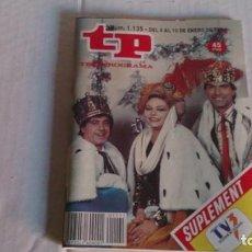 Coleccionismo de Revista Teleprograma: REVISTA TP N 1135 ENERO 1988. Lote 103940827