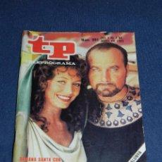 Coleccionismo de Revista Teleprograma: (M) TP TELEPROGRAMAS NUM 991 , 1985 PORTADA LOS ULTIMOS DIAS DE POMPEYA, SEÑALES DE USO. Lote 103965303