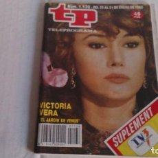 Coleccionismo de Revista Teleprograma: REVISTA TP N 1138 ENERO 1988. Lote 104053423